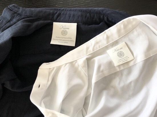 Kaoru&Shiz collectionと企画生産したシャツの話